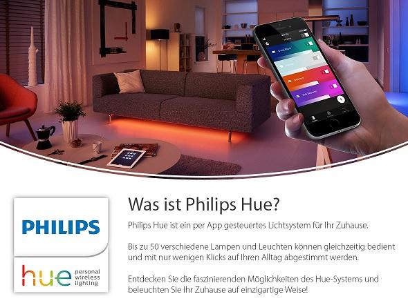 Philips Hue Sytems & Neuerscheinigungen