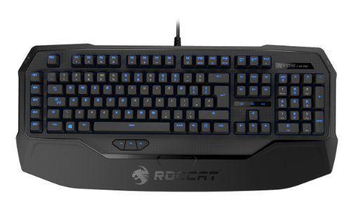 ROCCAT (B-WARE)  Ryos MK Pro Mechanische Gaming Tastatur mit Per-key Illumination (UK-Layout, Einzeltastenbeleuchtung, Mechanische Tasten, MX Switch braun)