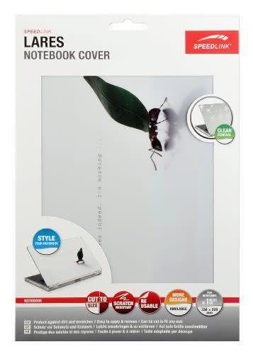Speedlink (B-WARE) Lares M Notebook Cover 38,1 cm (15 Zoll) (Aufkleber/Schutzfolie, zuschneidbar, 33x23cm, Motiv Ameise)