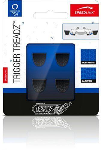 Speedlink (B-WARE) Trigger Treadz selbsthaftende Aufsätze für Schultertasten des Playstation 4/PS4 Gamepad (verbessert die Kontrolle und verhindert Abrutschen)