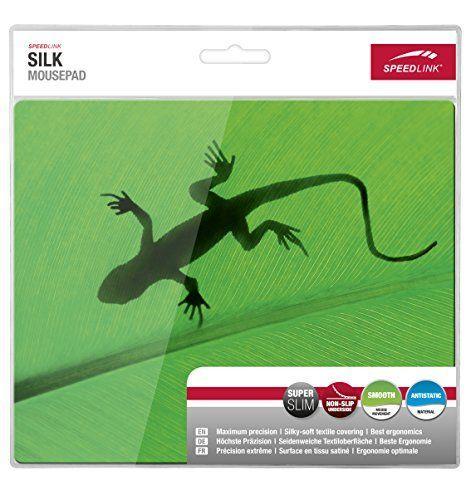 Speedlink (B-WARE) Silk Mauspad Gecko (weiche Oberfläche, geringer Gleitwiderstand, gummierte Unterseite, verschiedene Motive)