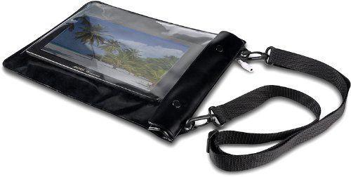 Speedlink (B-WARE) Spritzwasserfeste Schutzhülle - CUDA Tablet Beach Skin (bewahrt vor Spritzwasser, Staub, Schmutz und Kratzern - aufrollbar für geringen Platzbedarf) für Tablets / eBook-Reader / Smartphones bis 7´´ schwarz 09-09-4.72317