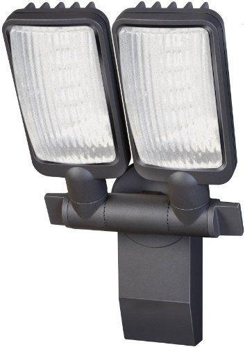 Brennenstuhl LED-Strahler Duo Premium City / LED-Leuchte für außen und innen (IP44, dreh- und schwenkbar, 30 Watt, 6400 K) Farbe: anthrazit