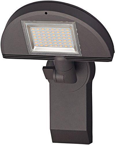 Brennenstuhl LED-Strahler Premium City / LED-Leuchte für außen und innen (IP44 geschützt, drehbar, 40 W, 3000 K) Farbe: anthrazit