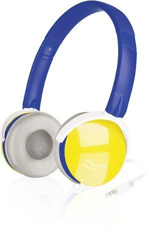 Speedlink (B-WARE) Aux Freestyle Kopfhörer mit Kabelfernbedienung und integriertem Mikrofon (3,5 mm, für unterwegs, Trendfarben, Kabel 3,5mm auf 2×3,5mm beiliegend)
