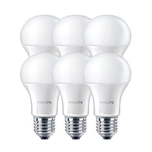 Philips 49078500 A+ LED-Leuchtmittel, Glas, 9 W, E27, weiß