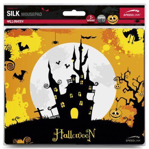Speedlink (B-WARE) Mauspad Halloween/Spukschloss (weiche Oberfläche, geringer Gleitwiderstand, gummierte Unterseite, verschiedene Motive)