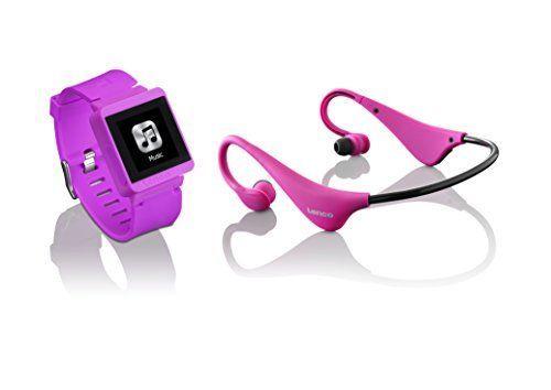 LENCO MP3 Sportwatch-100 mit 9-4-4-557