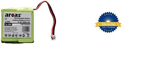 Qualität ARCAS POWER NI-MH AKKU 2,4V Volt 600 mAh FÜR MEDION, AUDIOLINE, TEVION, TELEKOM, SIEMENS, SAGEM, SWISSCOM, SAMSUNG, DETEWE, FRITZ FON MT-D NEU 5M702BMX /Ersetzt GP0827 / GP0845 / 5M702BMXZ