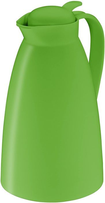 alfi 0825.282.100 Isolierkanne Eco, Kunststoff gefrostet Lime 1,0 l, 12 Stunden heiß, 24 Stunden kalt