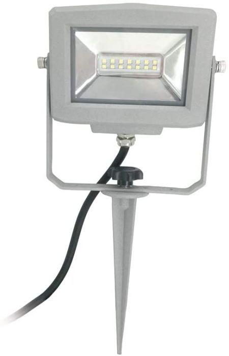 as-Schwabe Slimline LED Strahler 10 W mit Erdspieß / Samsung LED / Mit EU Stecker