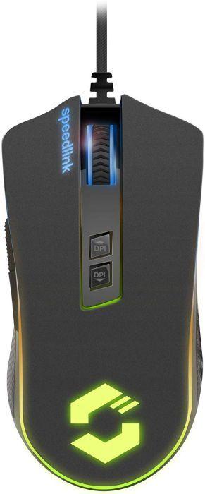 SPEEDLINK ORIOS RGB PROFI Gaming Maus 10 000 DPI Mouse für PC Beleuchtet LED (B-Ware)