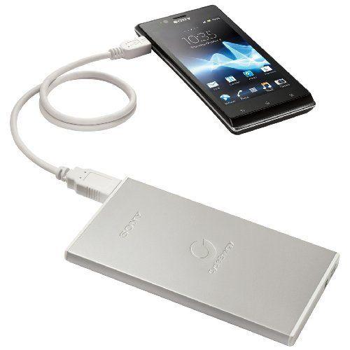 Sony CP-F1LSA Tragbare Stromversorgung für Smartphone (3000mAh, micro-USB)