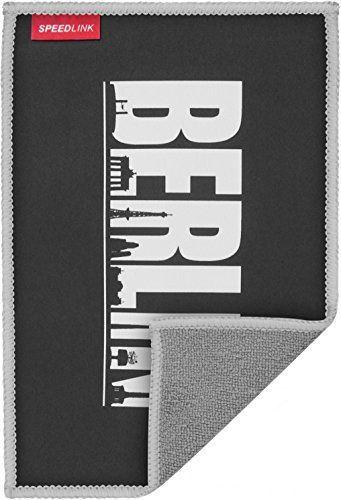 Speedlink (B-WARE) Hochwertiges Mikrofasertuch - SILK Cleaning Cloth Berlin (schonende Reinigung von Gehäuse und Display - trockene und feuchte Anwendung - langlebiges, wiederverwendbares Material) Tablet-PCs / Pads Smartphones