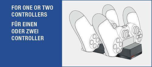 Speedlink (B-WARE) USB-Ladegerät für PS4 - JAZZ USB Charger (Komfortables Einstecksystem - Mit LED-Ladestatusanzeigen - Bis zu zwei DUALSHOCK4-Controller gleichzeitig aufladbar) schwarz