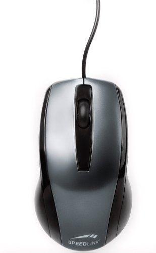 Speedlink (B-WARE) Relic 3-Tasten-Maus mit PS/2 Anschluss (für Rechts- und Linkshänder, 800dpi, PS/2)