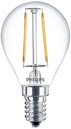 Philips LED Lampe E14 2,5W (25W) warmweiß 250lm klar 20-2-3-7611