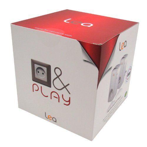 LEA NetSocket 200+ Nano Pack Powerline-Adapter (CPL, 200 Mbit/s, 2 Ethernet-Buchsen)