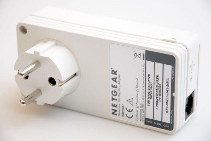 NETGEAR Powerline AV+ 500 Netzwerkadapter Kit  (2xNetgear500 Adapter)
