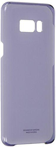 Samsung EF-QG955CVEGWW Clear Cover (geeignet für Samsung Galaxy S8+) violett