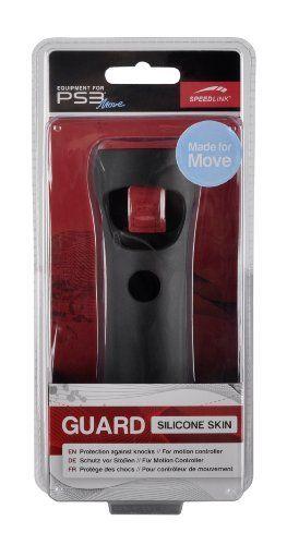 Speedlink (B-WARE)  Guard Silikon Schutzhülle für den Playstation 3/PS3 Move Motion Controller, schwarz