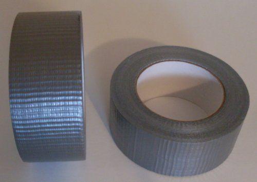 1x Profi Panzertape Gewebeband 50 m x 48 mm 'Ultra Strong' Silber