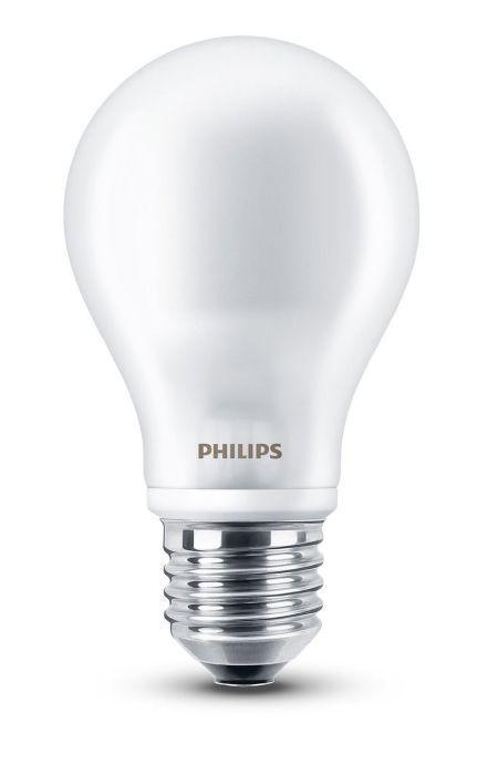Philips LED classic Lampe 7w ersetzt 60 W, A++, E27, warmweiß, 806 Lumen, Glas. R2.F2