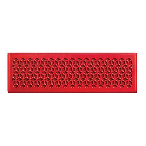 Creative (B-WARE) MUVO Mini Mobiler Bluetooth-Lautsprecher (Wetterfest, mit NFC) für Smartphone und Tablet-PC Red