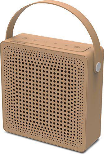 Speedlink (B-WARE) Playawave Outdoor Bluetooth-Lautsprecher (bis zu 12 Stunden Spielzeit, staubgeschützt, spritzwassergeschützt nach IP-Schutzklasse 65) braun