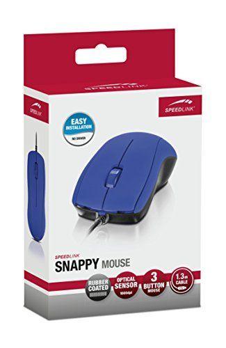 Speedlink (B-WARE) SL-610003-BE SNAPPY Maus blau