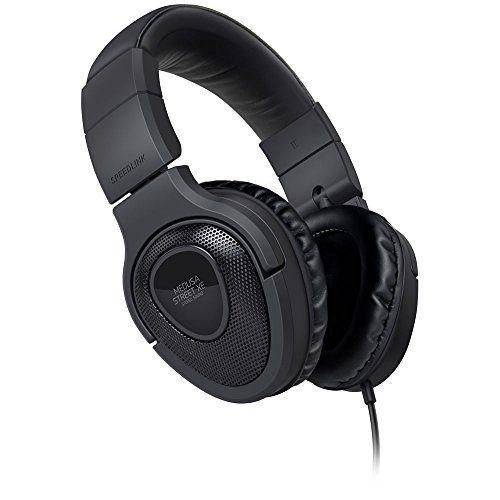 Speedlink (B-WARE) Kopfhörer mit Mikrofon - MEDUSA STREET XE Stereo Headset 3,5mm (Kabellänge 1m - Weiche, umschließende Ohrmuscheln - Noise-Reduction-Mikrofon) für Notebooks / Smartphones schwarz