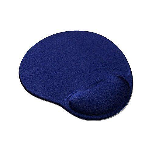 Speedlink (B-WARE) Mauspad mit Gelfüllung - VELLU Gel-Mauspad Ergonomie (vermeidet Haltungsschäden - passt sich ideal an jedes Handgelenk an - ) PC / Computer Mousepad blau