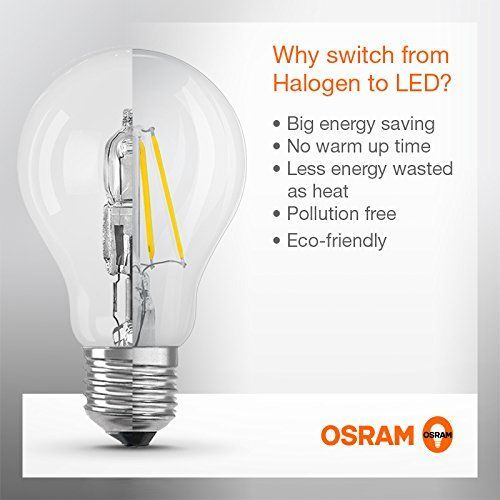 Osram LED Star Classic B Lampe, in Kerzenform mit E14-Sockel, nicht dimmbar, Ersetzt 40 Watt, Matt, Warmweiß - 2700 Kelvin, 1er-Pack
