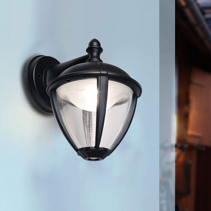 Eco Light LED Außenwandleuchte Unite hängend IP 44, LED 9W, 270 Lumen Aluminium