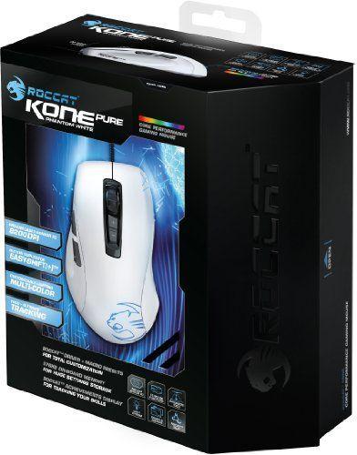 ROCCAT (B-WARE)  Kone Pure Color - Phantom White Gaming Maus weiß