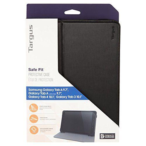 TARGUS SafeFit Samsung Tab A 24,6cm 9,7Zoll Tablet Case Black