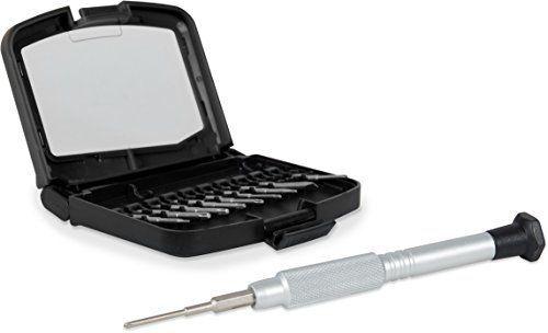 Speedlink (B-WARE) Praktisches Spezial-Werkzeugset - TAYLOR M Electronics Toolkit (Auswahl an klassischen Präzisions-Werkzeugen - Aufbewahrungs-Box mit sicheren Halterungen - inkl. Aluminium Bit-Halter mit Drehkopf) für Elektro-Kleingeräte