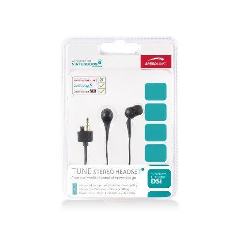 Speedlink (B-WARE) Tune Kopfhörer für den Nintendo Handheld (spezieller Nintendo-Anschluss) schwarz
