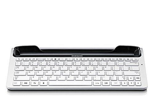 Samsung Original vollwertige Tastatur (QWERTZ) EKD-K11DWEGXEG (kompatibel mit Galaxy Tab 2 7.0) in weiß