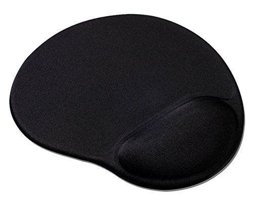Speedlink (B-WARE) Mauspad mit Gelfüllung - VELLU Gel-Mauspad Ergonomie (vermeidet Haltungsschäden - passt sich ideal an jedes Handgelenk an - ) PC / Computer Mousepad schwarz