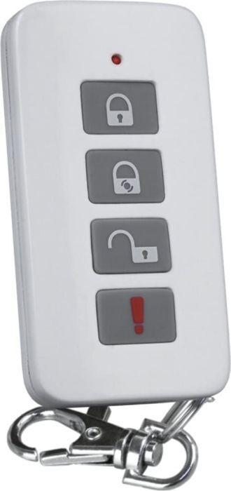 Smartwares HA701SL-IC Drahtloses Smartes Funk-Alarmsystem 3-in-1, Überwachungssystem, Weiß