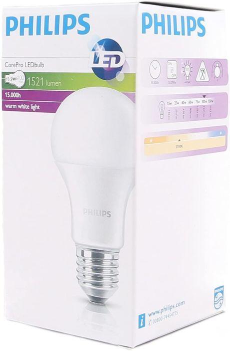 Philips LED Leuchtmittel E27  CorePro Lampe 13W = 100W 2700K Warmweiß R2.F22