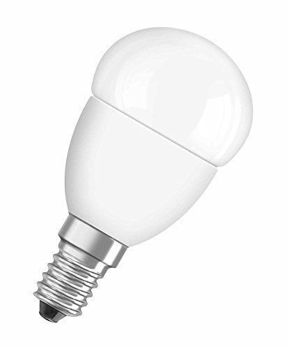 Osram LED-Lampe, Sockel E14, nicht dimmbar, Warm White (2700 K) | ersetzt Glühlampen mit 40 W, 5.70 W, Matt, LED Star, Classic P 1073