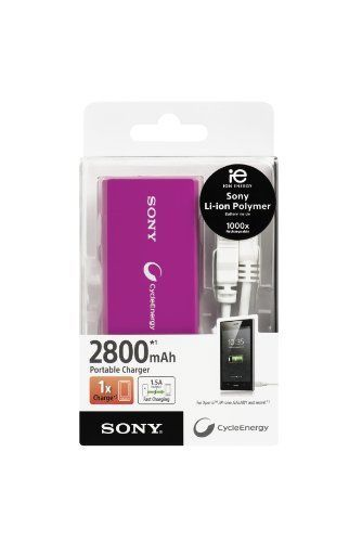 Sony CP-V3V Portable Charger (3000 mAh) lila