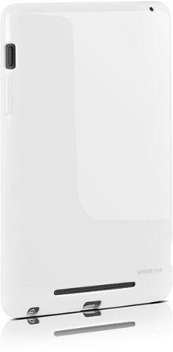 Speedlink (B-WARE) Curb Soft Case Tablet-Schutzhülle für Google Nexus 7 (flexibles Material, Kamera/Anschlüsse/Tasten frei erreichbar), weiß