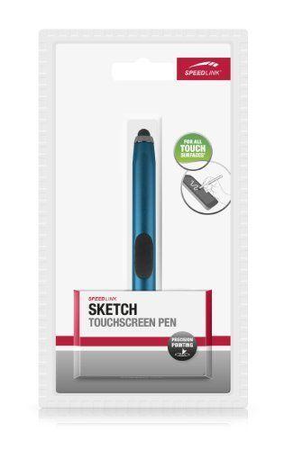 Speedlink (B-WARE) Sketch Touchscreen Eingabestift (magnetisch, Silikonfingerauflage, 12cm Länge) blau