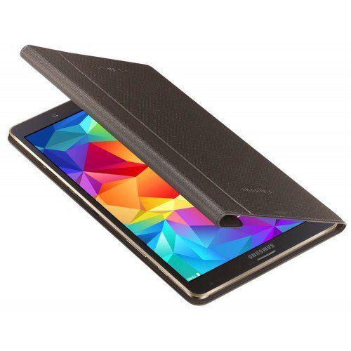 Samsung Tab S - Schutzhülle für Vorderseite, titan bronze - EF-DT700BSEGWW