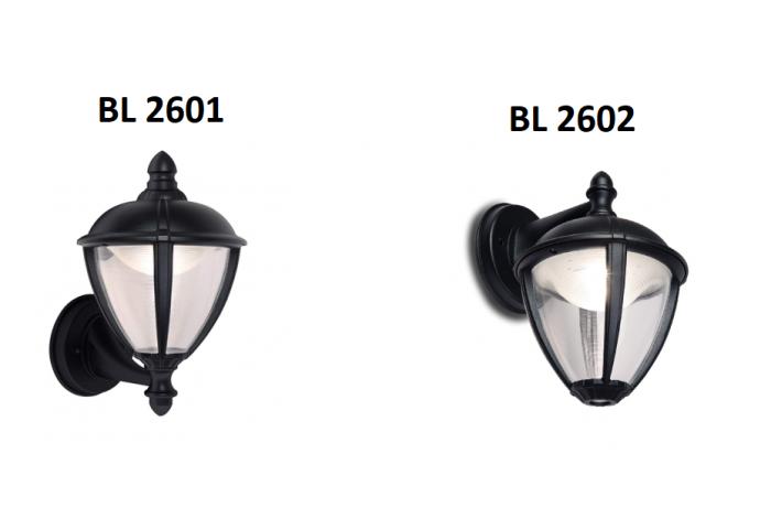 EcoLight LED Aussenleuchte IP44 Wandleuchte Gartenleuchte Außen Lampe Wand ALU