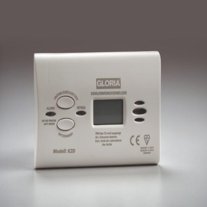 GLORIA CO-Melder K2D mit Display