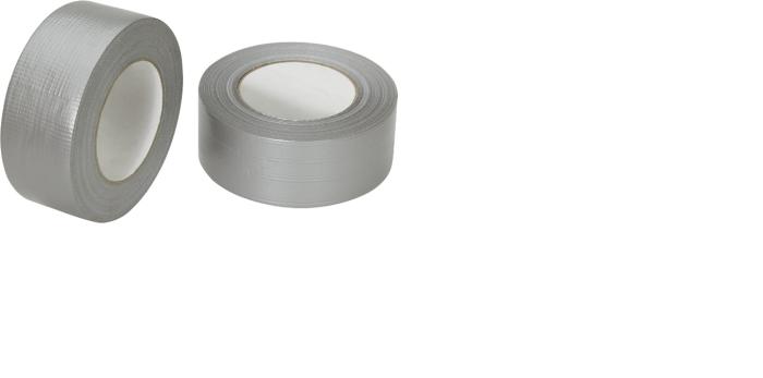 24x Profi Gewebeband 50 m x 48 mm 'Ultra Strong' Silber